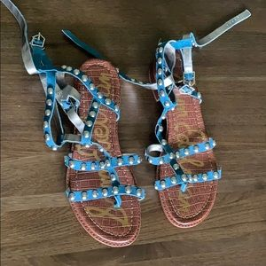 Sam Edelman studded sandals size 9